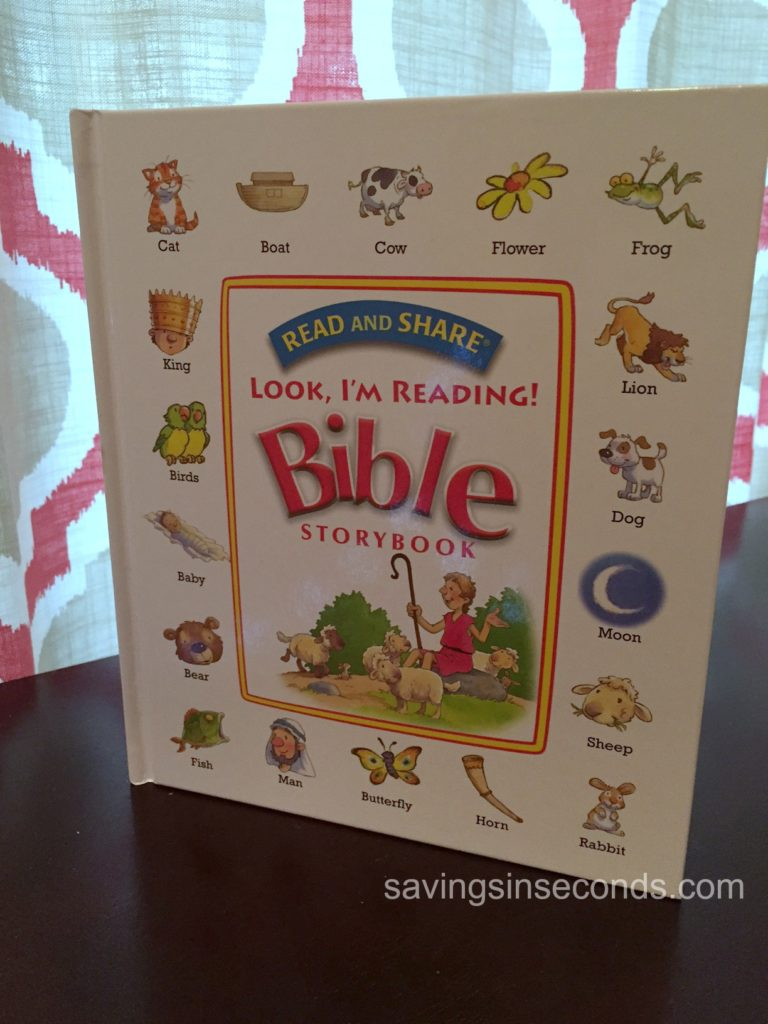 Read and Share - Look I'm Reading Bible #giveaway