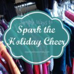 Spark the holiday cheer with these simple tasks