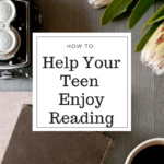 Getting your teen into a book (and vice versa)