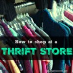 How to shop at a thrift store