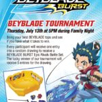 BEYBLADE BURST event at Ovation Brands restaurants #TastyTreats2017 #giveaway ends 7/2