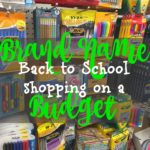 Brand names and your back to school shopping budget
