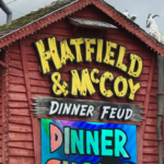 Hatfield and McCoy Dinner Feud in Pigeon Forge #giveaway #HatfieldMcCoyDinnerShow