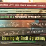 Clearing my shelf to make room for more #giveaway ends 8/30 US/CAN