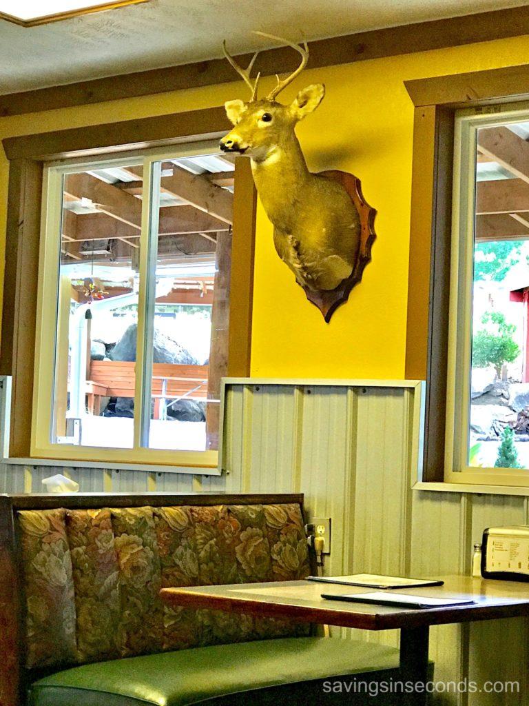Magnolia Tree restaurant near Gatlinburg - in Cosby TN