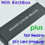 Why I Broke Up With Birchbox and my Luxury Sample Box from Amazon #Giveaway