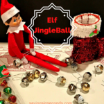 Simply holiday craft for Elf on the Shelf – JingleBall #ad