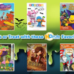 NCIRCLE Halloween DVD favorites include Cat in the Hat and Houdini