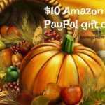 $10 Amazon or PayPal gift #giveaway gratitude for our readers