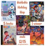 Disney holiday books from Parragon #rwm #HoHoHoHop #giveaway ends 12/15