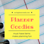 Make your planner happy with these goodies  #giveaway