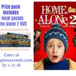 Home Alone 2 Family Night at Ovation Brands restaurants