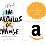 Calculus of Change + Amazon #giveaway US #MovieNight  #rwm